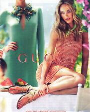 PUBLICITE  2012   GUCCI  haute couture collection été 2013
