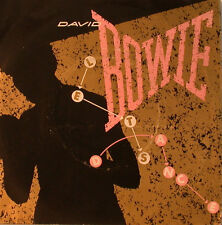 "DAVID BOWIE - CAT PEOPLE - LET'S DANCE  - 7"" SINGLE (F1294)"