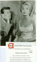 LESLIE PARRISH BUSTY GARY LOCKWOOD FOLLOW THE SUN ORIGINAL 1962 ABC TV PHOTO