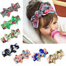 Baby Girls Toddlers Floral Big Bow Hair Headband Birthday Party Bag Accessories