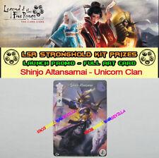 LEGEND OF THE FIVE RINGS LCG - Shinjo Altansarnai Unicorn Clan - Stronghold Kit