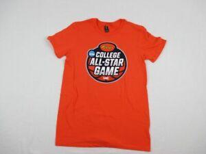 Anvil Short Sleeve Shirt Men's Orange Cotton New Multiple Sizes