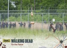 Walking Dead Season 4 Part 2 Silver Parallel Base Card #01 On the Fence