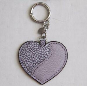 MICHAEL Michael Kors Leather Heartbreaker Charm Style # 32S6GLXK3N, Lilac