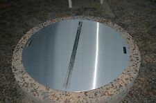 "Firebuggz 40"" Round Stainless Steel Fire Pit Cover 14 gauge 430 stainless"