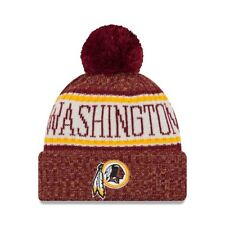 Nfl gorro lana washington redskins sideline 2018 cuffed ha invierno gorro NewEra