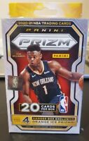 2020-2021 Panini Prizm Basketball Blaster Brand New Sealed!