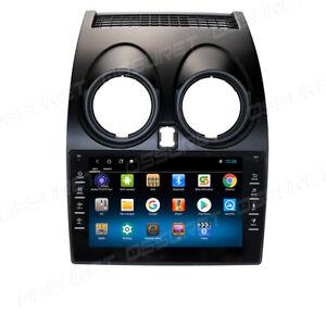 InDash Car Android Stereo GPS SatNav DAB+Radio WiFi fit Nissan Qashqai 2006-2013