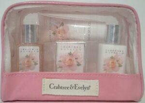 crabtree evelyn evelyn  rose gift set travel