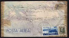 STORIA POSTALE AOI 1937 Lettera PA da Nefasit a Palazzo San Gervasio (FSX)