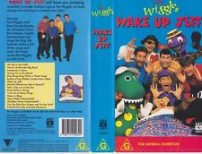 THE WIGGLES  WAKE UP JEFF VHS VIDEO PAL~ A RARE FIND
