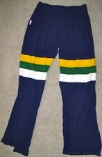 NBA SAND KNIT UTAH JAZZ GAME USED PANTS 34 JERSEY UNIFORM 1987 PURPLE #30 CURRY