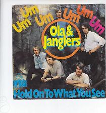 """Single 7"""" - Ola & Janglers """"Um um um um um um // Hold on to what you see"""""""