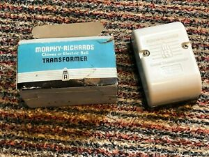 RETRO VINTAGE MORPHY RICHARDS CANTERBURY LONG TUBE DOOR BELL CHIME & TRANSFORMER
