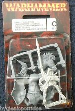 1997 dark elf rider 3 de caballería corcel ciudadela Elfos Drow Warhammer montado MIB GW