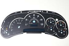 03-04 Cadillac Escalade Speedometer Instrument Cluster Gauge Face Overlay
