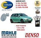PARA FIAT PUNTO 1.9 D + 1.9 JTD 99-03 KIT DE SERVICIO