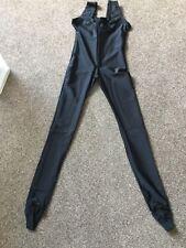 Black Nylon Lycra Catsuit (scatty) from Starlite Brand New Size 10-12
