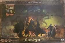 Joan of Arc Time of Legends Apocalypse Expansion Kickstarter Game New Sealed Box