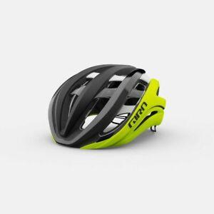 Giro Aether Spherical MIPS Matte Black Fade/Highlight Yellow Medium