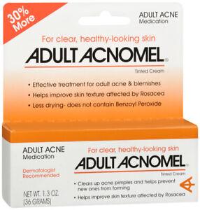Adult Acne Acnomel Tinted Cream  1.3 oz