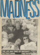 1983 MELODY MAKER SPECIAL 16 PAGE MADNESS COMIC - SUGGS SKA TWO 2 TONE STIFF CD
