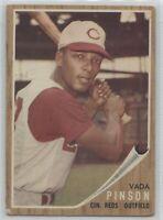 1962 Topps Baseball  #80 Vada Pinson
