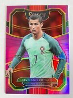 First Number 2017-18 Select soccer Cristiano Ronaldo #33 Purple Prizm 001/125