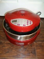 """Red Nuwave Pro Plus Infrared Oven Model 20613 w/3"""" Stainless Extension.  NEW"""