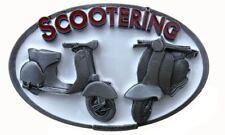 Vespa & Lambretta Scooter Officially Licensed belt buckle DDMR 2014