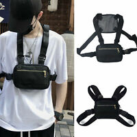 Chest Rig Bags Running Phone Holder Front Pack Streetwear Sports Shoulder Bag