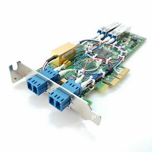 Silicom PEG2BPFI-LX-SD-RoSH Gigabit Ethernet Bypass Adapter Dual Port Fiber V1.1