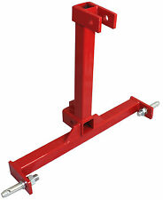 "3 Point Trailer Hitch Category 1 Tractor Tow Hitch Drawbar Adapter 2"" Receiver"