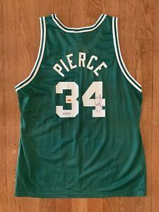RARE Paul Pierce Signed Autographed Jersey w/ Fleer COA #253/500 Boston Celtics