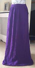 New Look Purple Maxi Skirt Size 8