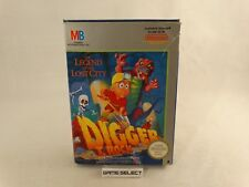 DIGGER THE LEGEND OF THE LOST CITY T. ROCK NINTENDO NES PAL A MATTEL ORIGINALE