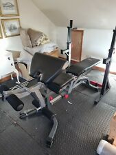 Bodymax Weight Bench With Preacher Curl & Leg Deveoper and Separate Squat Rack