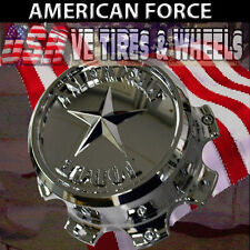 "AMERICAN FORCE 6 LUG CHROME CAP  WHEELS  AFX360-2"""