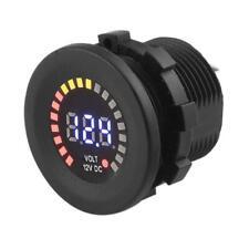 Waterproof DC 12V Car Motorcycle LED Digital Voltmeter Voltage Meter Gauge N#S7