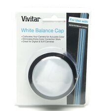 Vivitar White Balance Cap For Use With 49, 52, 55 & 58mm Lenses. Sealed. Unused.
