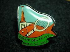 Comite des Fetes Marest sur Matz used Hat Lapel Pin Tie Tac HP0235