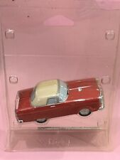 LEMAX Village Classic Car Battery Powered Classic Red Thunderbird New In Package