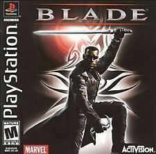 Blade (Sony PlayStation 1, 2000) PS1 video game WESLEY SNIPES vampires DRACULA