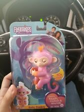 Authentic Fingerlings Monkey-Summer-Pink w/ Orange Hair Usa Seller! Interactive