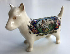 More details for british empire exhibition 1924 - arcadian china crested dog - lovely condition!