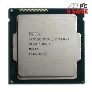 Intel Xeon E3-1240 V3 SR152 3.4GHz 8MB 4C LGA1150 Workstation CPU Processor 80W