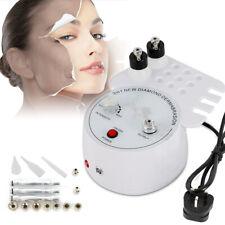 White 3in1 Diamond Microdermabrasion Hydro Facial Spa Peel Vacuum Spray Machine