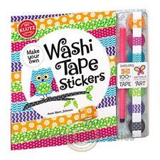 Washi Tape Stickers Fun Design Decorative Tape Paper Sticker