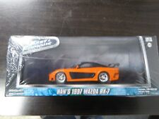 GREENLIGHT 1:43 Fast and Furious - Hans 1997 Mazda RX-7