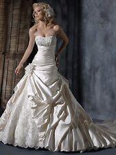 MAGGIE SOTTERO AMBROSIA SIZE 4 WEDDING DRESS